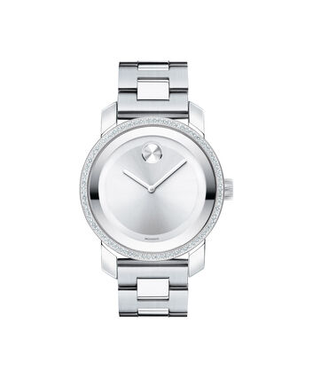 MOVADO Movado BOLD3600149 – 36 mm Diamonds bracelet watch - Front view