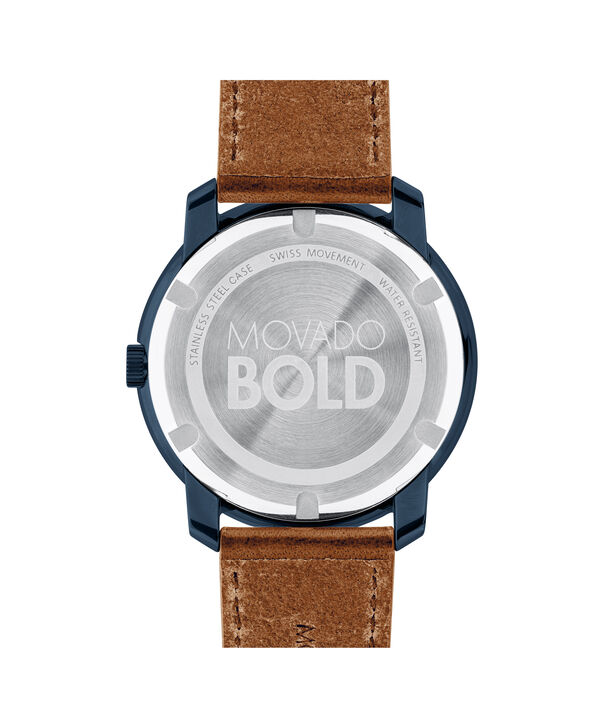 MOVADO Movado BOLD3600470 – Men's 44 mm strap watch - Back view