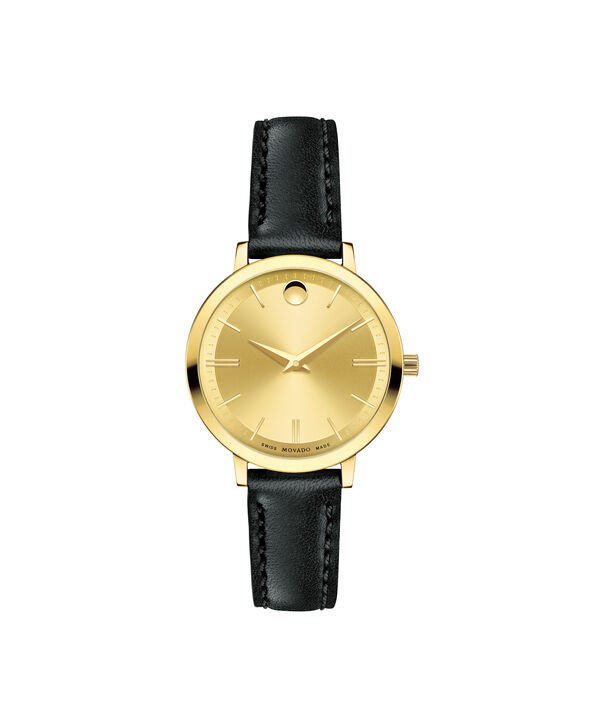 MOVADO Movado Ultra Slim0607158 – Women's 28 mm strap watch - Front view