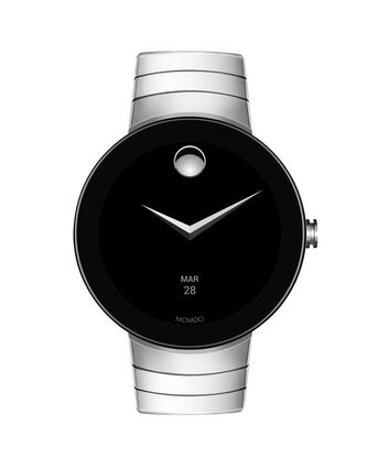 MOVADO Movado Connect3660017 – 46.5 mm display smartwatch - Front view