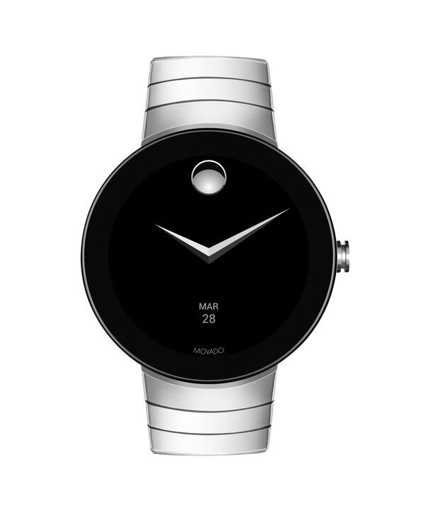 MOVADO Movado Connect3660017 – 46.5 mm display smartwatch - Side view