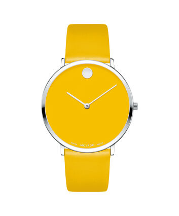 MOVADO Modern 470607252 – Movado.com EXCLUSIVE 40mm strap watch - Front view