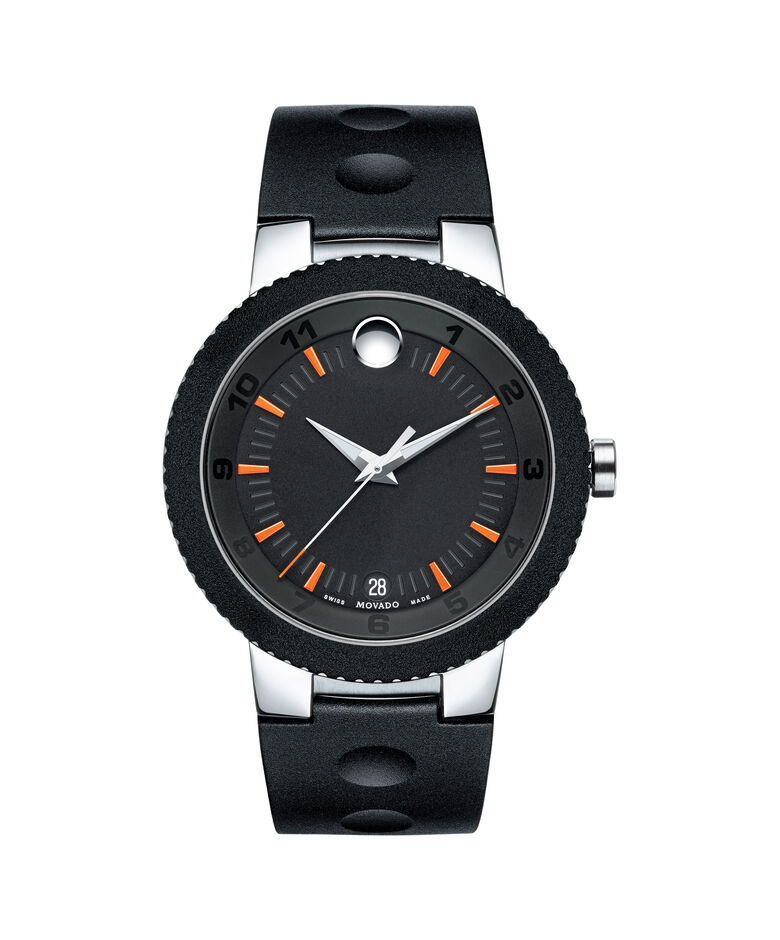MOVADO Sport Edge0606926 – Men's 42.5 mm strap watch - Front view