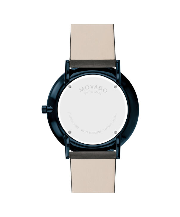 MOVADO Modern 470607333 – 40 mm Modern 47 on Textured Strap - Back view