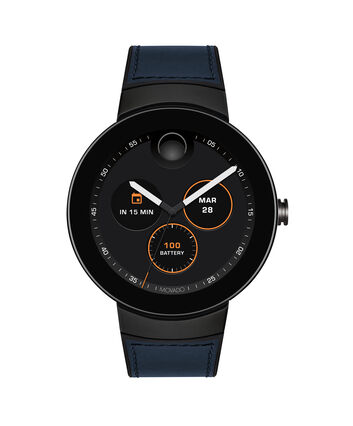 MOVADO Movado Connect3660020 – 46.5 mm display smartwatch - Front view