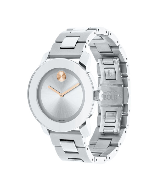 MOVADO Movado BOLD3600084 – 36 mm Metals bracelet watch - Side view