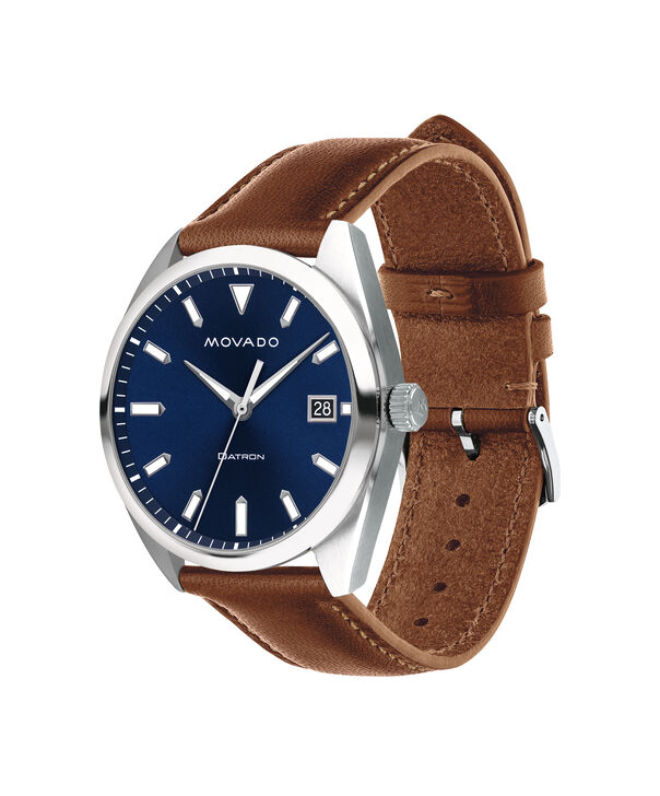 MOVADO Movado Heritage Series3650057 – Men's 39 mm strap watch - Side view