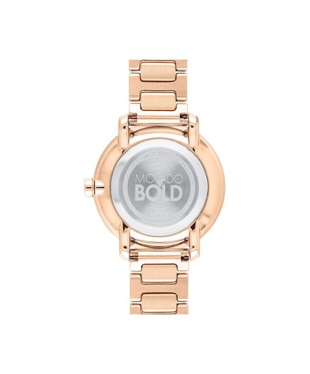 MOVADO Movado BOLD3600503 – 34 mm Metals bracelet watch - Back view