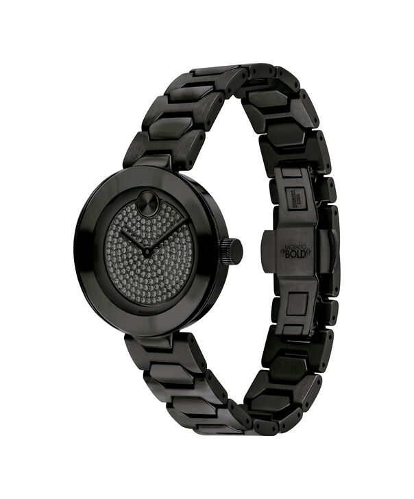 MOVADO Movado Bold3600576 – 32mm BOLD T-Bar with Pave Dial - Side view