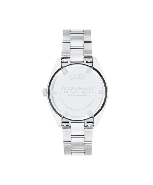 MOVADO Movado Heritage Series3650069 – Women's 31 mm bracelet watch - Back view
