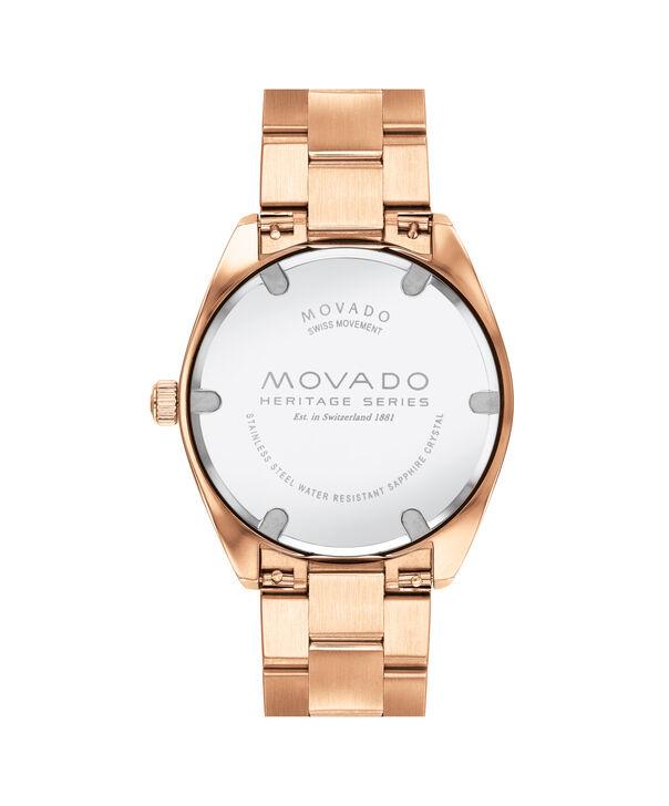 MOVADO Movado Heritage Series3650058 – Men's 39 mm bracelet watch - Back view