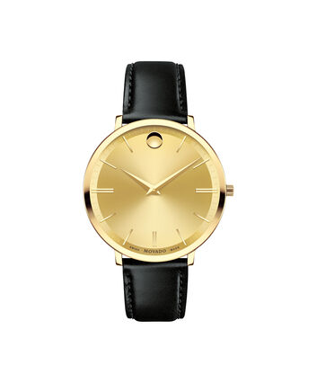 MOVADO Movado Ultra Slim0607157 – Women's 35 mm strap watch - Front view