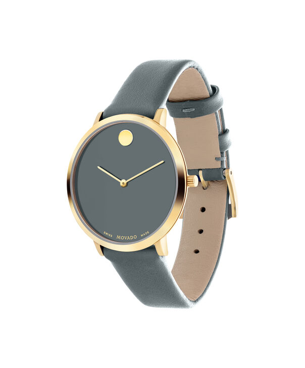 MOVADO 70th Anniversary0607140 – Mid-Size 35 mm strap watch - Side view