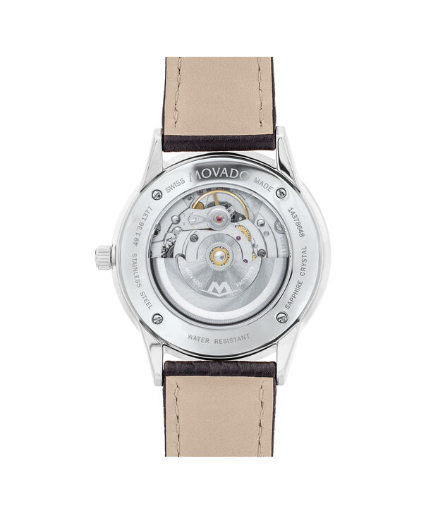 MOVADO 1881 Automatic0607020 – Men's 39.5 mm automatic 3-hand - Back view