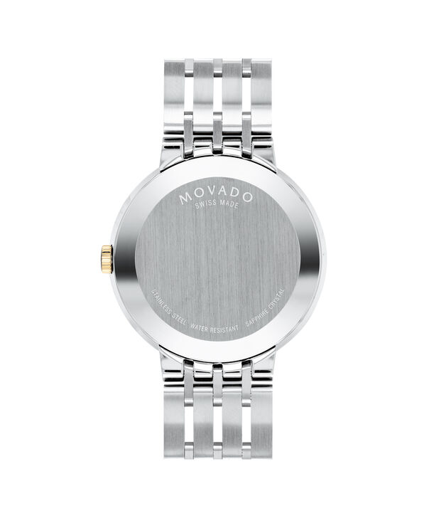 MOVADO Esperanza0607191 – Men's 39 mm bracelet watch - Back view