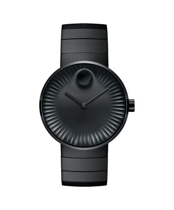 MOVADO Movado Edge3680007 – Men's 40 mm bracelet watch. - Front view