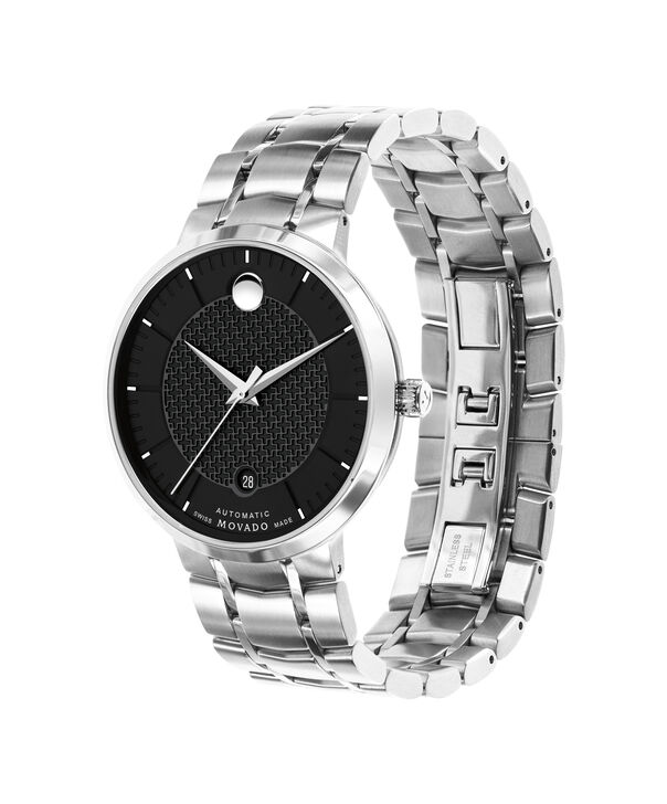 MOVADO 1881 Automatic0607164 – Men's 39.5 mm strap watch - Side view