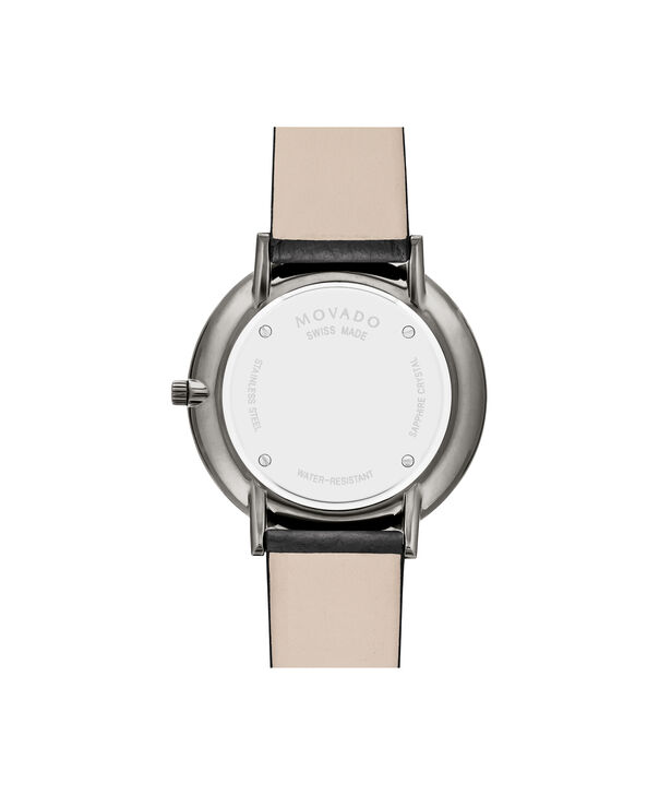 MOVADO Modern 470607340 – 35 mm Modern 47 on Textured Strap - Back view