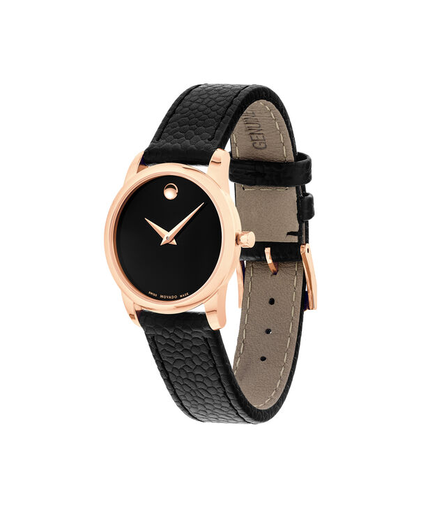 MOVADO Museum Classic0607061 – Women's 28 mm strap watch - Side view