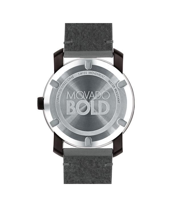 MOVADO Movado BOLD3600455 – 42mm Colorado leather strap watch - Back view