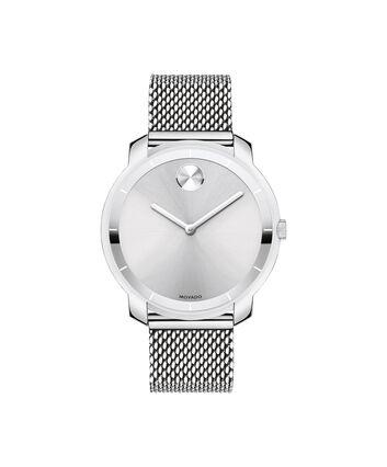 MOVADO Movado BOLD3600241 – 36 mm flat mesh bracelet watch - Front view