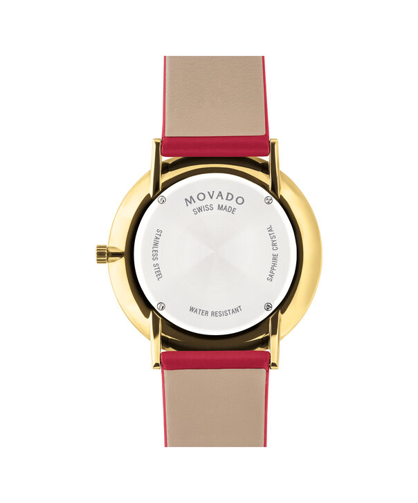 MOVADO Modern 470607253 – Movado.com EXCLUSIVE 40mm strap watch - Back view