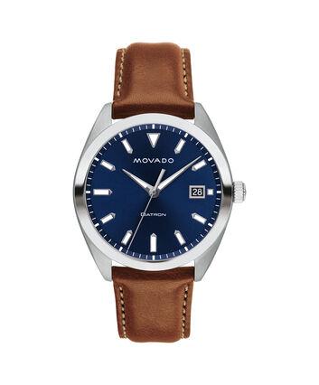 MOVADO Movado Heritage Series3650057 – Men's 39 mm strap watch - Front view