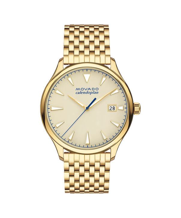 MOVADO Movado Heritage Series3650013 – Men's 40 mm bracelet watch - Front view