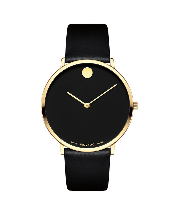MOVADO 70th Anniversary0607135 – Men's 40 mm strap watch - Front view