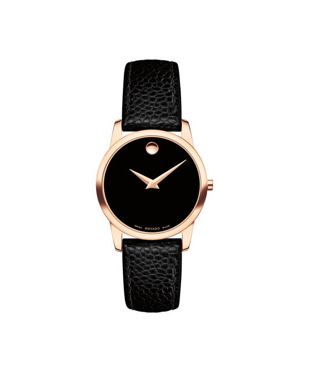 MOVADO Museum Classic0607061 – Women's 28 mm strap watch - Front view