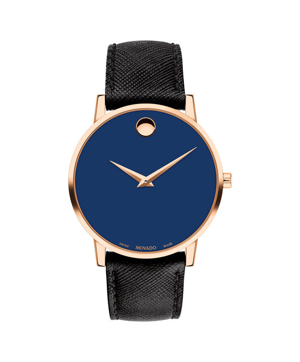 MOVADO Museum Classic0607266 – Men's 42 mm strap watch - Front view