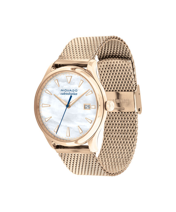 MOVADO Movado Heritage Series3650090 – 36mm Heritage Calendoplan 3H - Side view