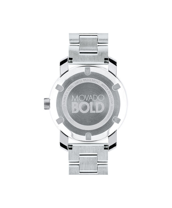 MOVADO Movado BOLD3600334 – 36 mm Metals bracelet watch - Back view