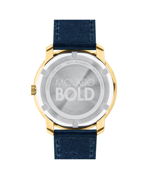 MOVADO Movado BOLD3600469 – Men's 44 mm strap watch - Back view