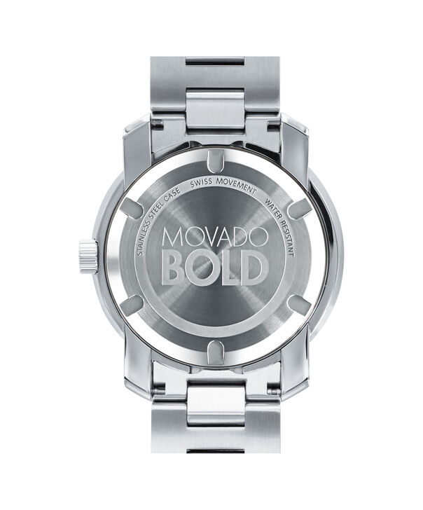 MOVADO Movado BOLD3600257 – 42.5 mm Metals bracelet watch - Back view