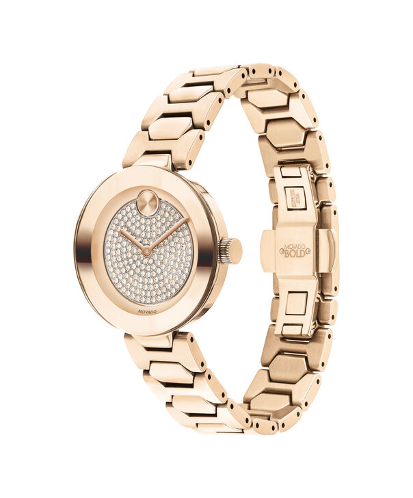 MOVADO Movado BOLD3600493 – 32 mm Metals bracelet watch - Side view