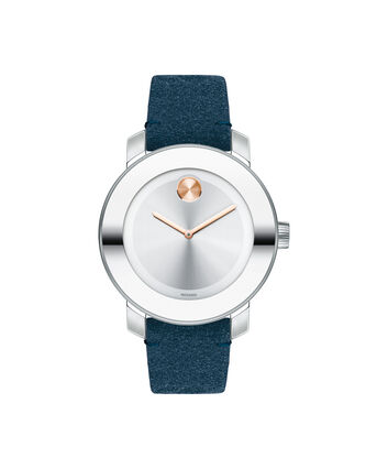 MOVADO Movado BOLD3600446 – 36 mm strap watch - Front view