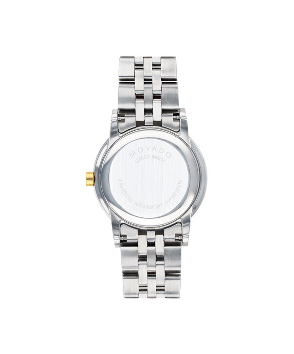MOVADO Museum Classic0607208 – Women's 28 mm bracelet watch - Back view