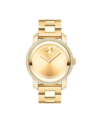MOVADO Movado BOLD3600150 – 36 mm Diamonds bracelet watch - Front view