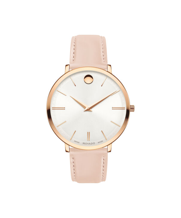 MOVADO Movado Ultra Slim0607373 – 35 mm Ultra Slim on Strap - Front view