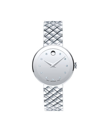 MOVADO Sapphire0607106 – Women's 30 mm bracelet watch - Front view