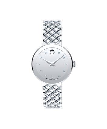MOVADO Sapphire0607106 – Women's 30 mm bracelet watch - Front view