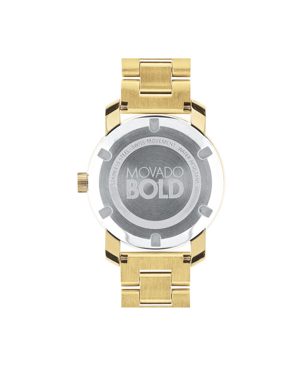 MOVADO Movado BOLD3600104 – 36 mm Metals bracelet watch - Back view