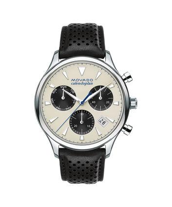 MOVADO Movado Heritage Series3650024 – Men's 43 mm strap chronograph - Front view