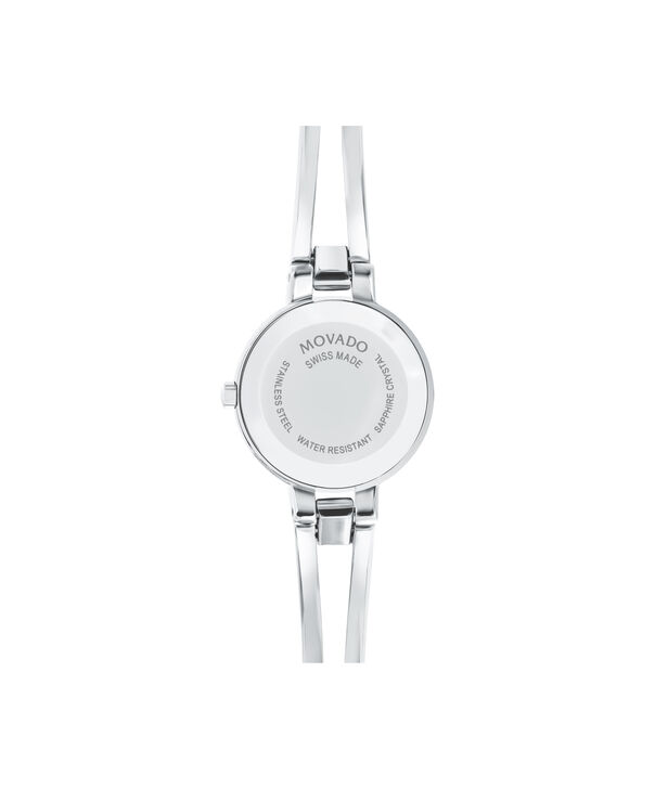 MOVADO Amorosa0607154 – Women's 24 mm bangle watch - Back view
