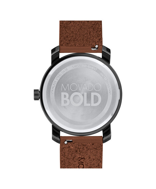 MOVADO Movado BOLD3600489 – Men's 41 mm strap watch - Back view