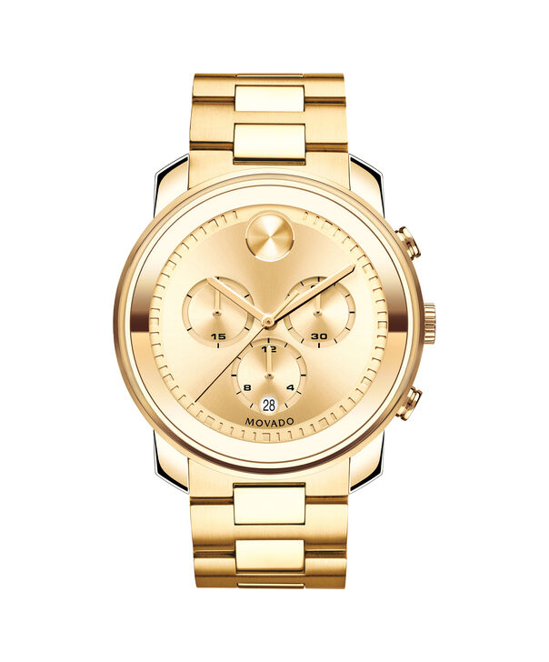 MOVADO Movado BOLD3600278 – 44 mm Metals bracelet chronograph - Front view