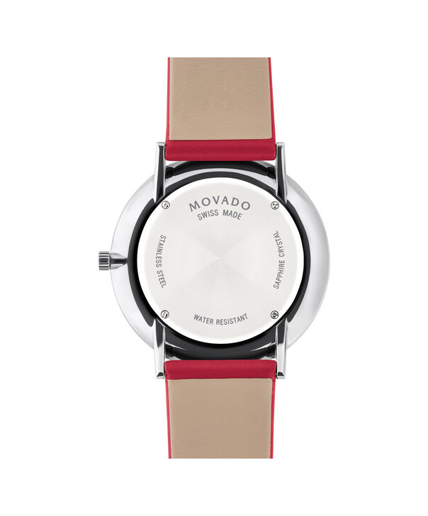 MOVADO Modern 470607250 – Movado.com EXCLUSIVE 40mm strap watch - Back view