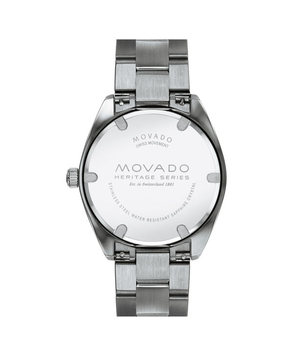 MOVADO Movado Heritage Series3650075 – Men's 39 mm bracelet watch - Back view