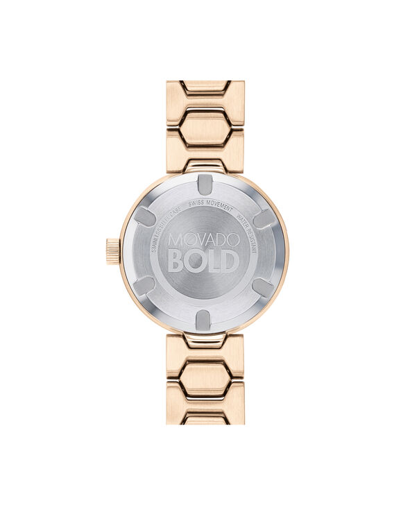 MOVADO Movado BOLD3600493 – 32 mm Metals bracelet watch - Back view